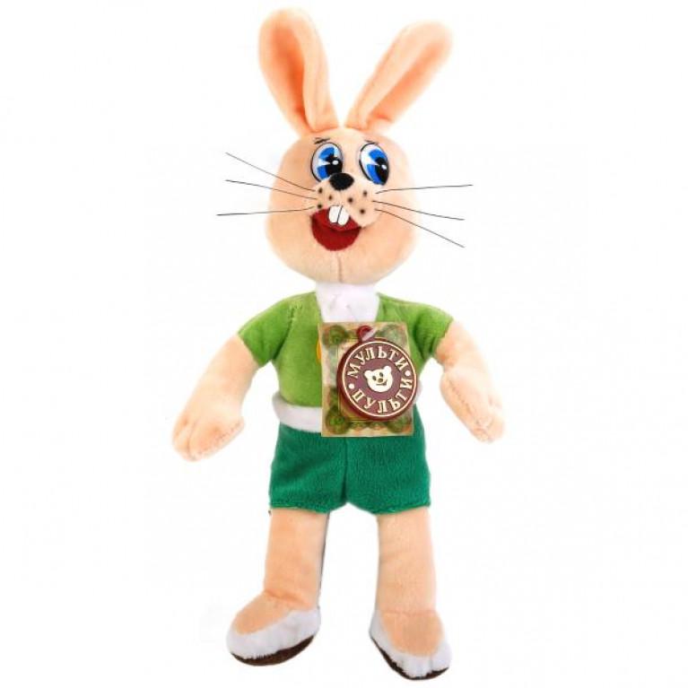 Ну, Погоди. Заяц. Озвученная игрушка. 25 см.