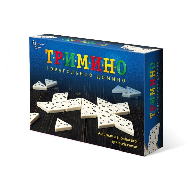 Игра Тримино (Треугольное домино)